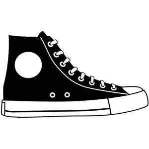 Converse clipart Clip Shoe 8 Image Clipart
