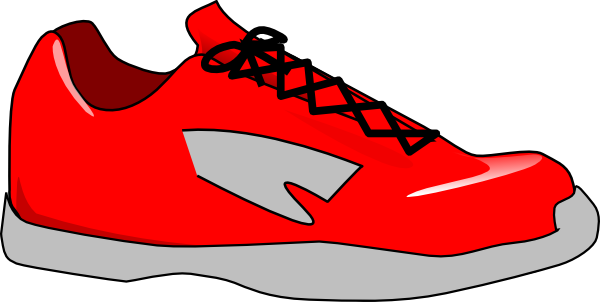 Red clipart running shoe Shoe%20clipart Clipart Free Clipart Images