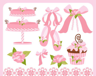 Ballerina clipart baby shoe Baby Clip cupcake clip art