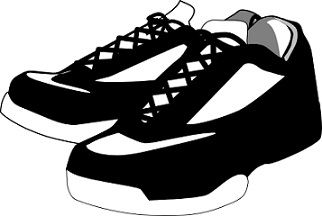 Basket clipart basketball sneaker Basketball Shoes Free Clipart shoes