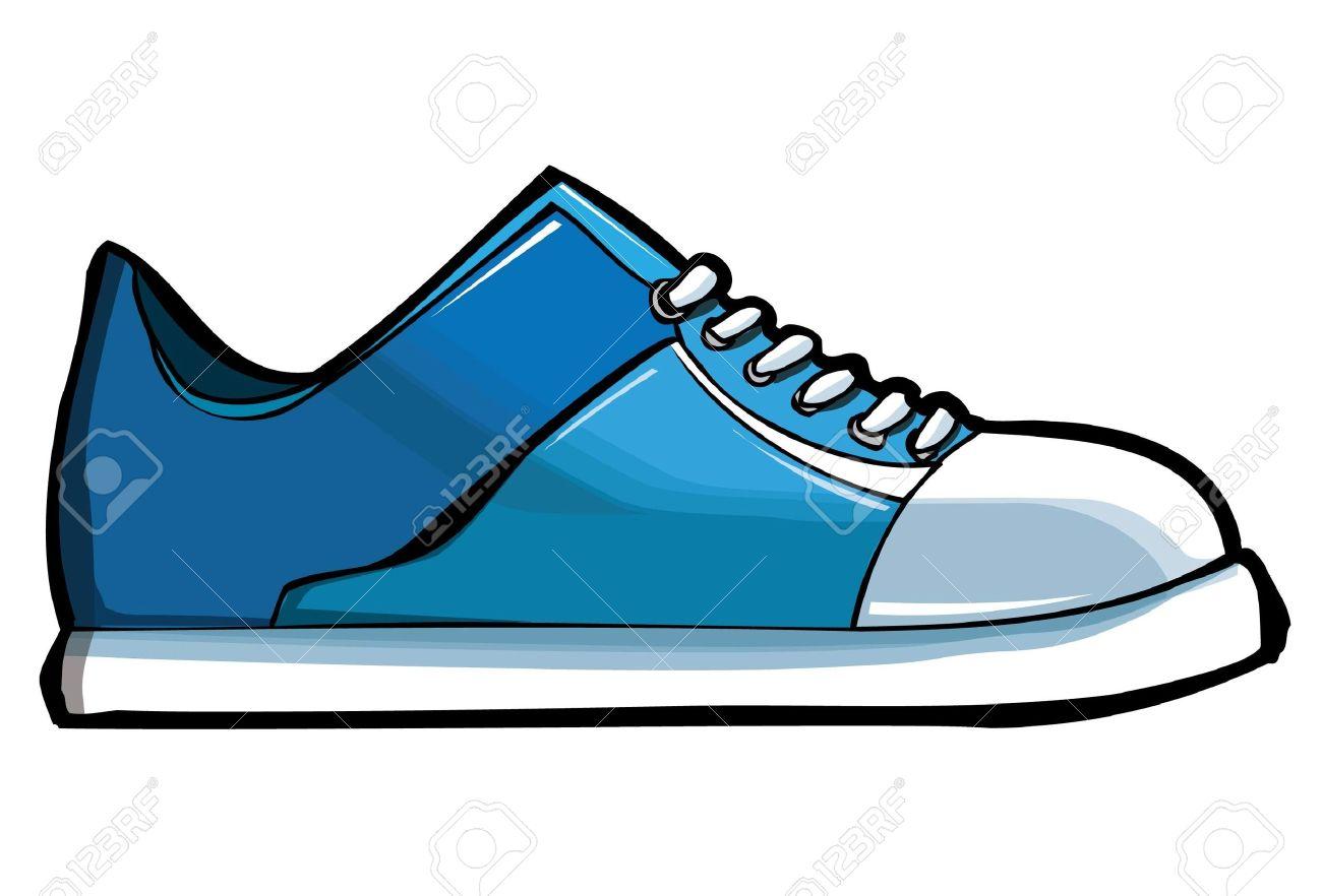 Shoe clipart blue (3368) Shoes Shoes Clipart Images