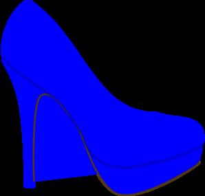 Shoe clipart blue Shoe clip Shoe Art vector