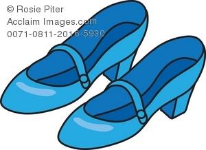 Shoe clipart blue Blue Blue Royalty clipart collection