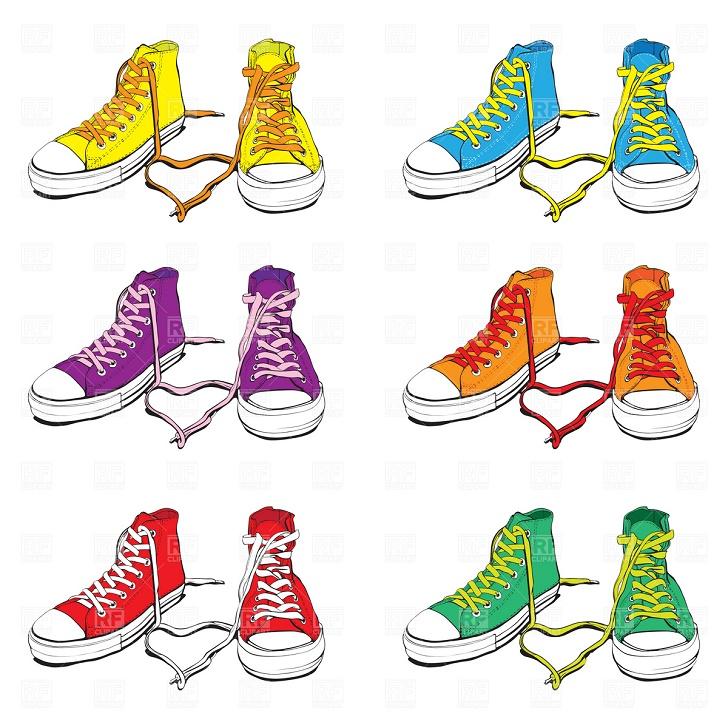 Shoe clipart border Gym Clip Art Art Shoe