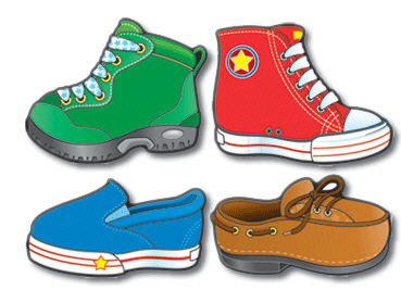 Shoe clipart carson dellosa #13