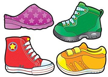 Shoe clipart carson dellosa #15
