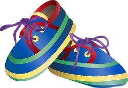 Shoe clipart child shoe #2