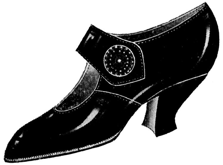 Shoe clipart footwear #12