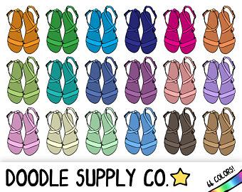 Shoe clipart footwear #13