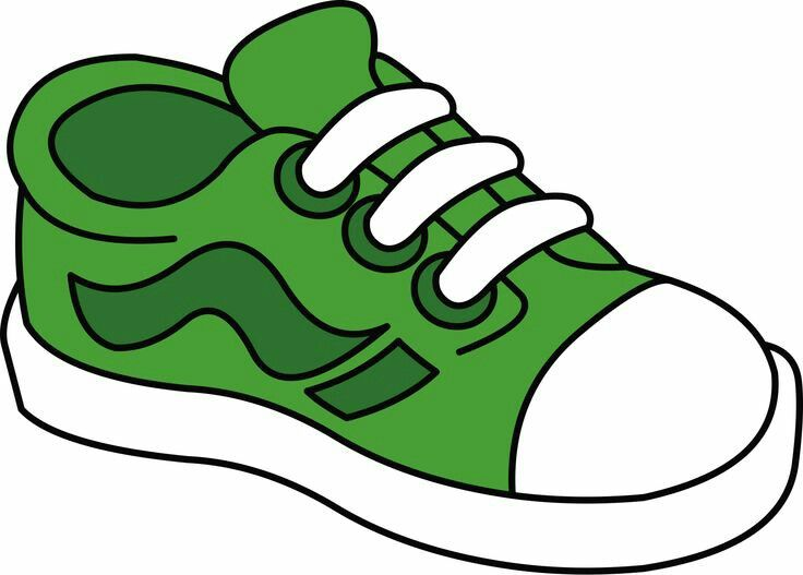 Gym-shoes clipart slipper Clipart Teaching frame doodle paper