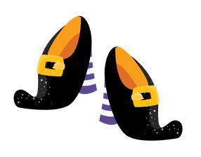 Shoe clipart halloween #14