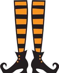 Shoe clipart halloween #13