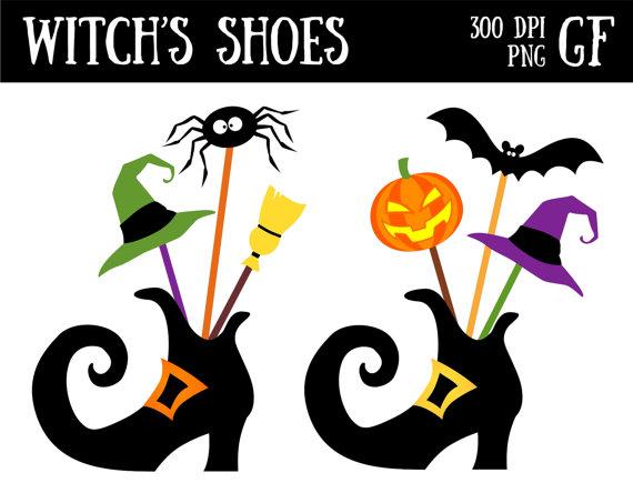 Shoe clipart halloween #12