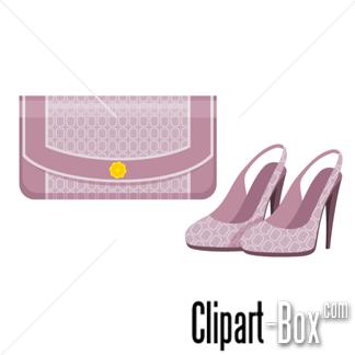 Shoe clipart handbag #8