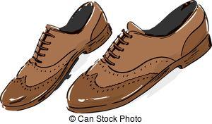 Shoe clipart men's shoe #9