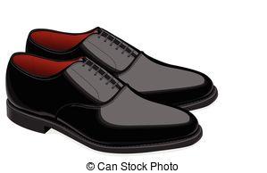 Shoe clipart men's shoe #8