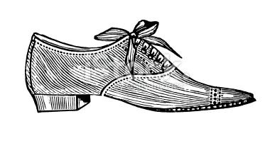 Shoe clipart men's shoe #11