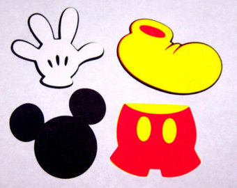 Shoe clipart mickey mouse #12