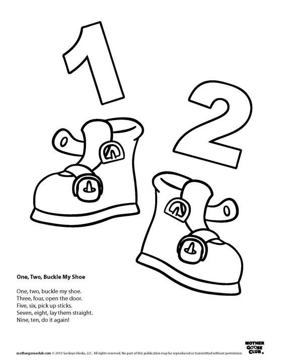 Shoe clipart preschool #10