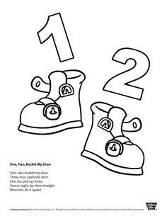 Shoe clipart preschool #5