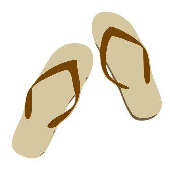 Shoe clipart sandal #10