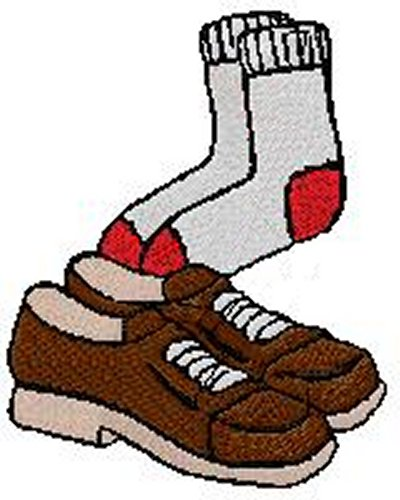 Shoe clipart shoe sock And Clipart  Socks Shoes