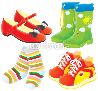 Shoe clipart shoe sock And Clipart Shoes Download Shoes