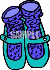 Shoe clipart shoe sock Socks Ballet Shoes Ballet Clipart