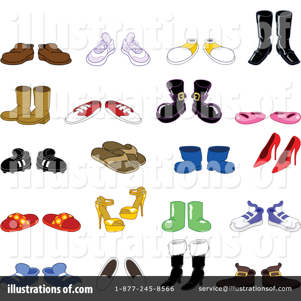 Shoe clipart variety #2