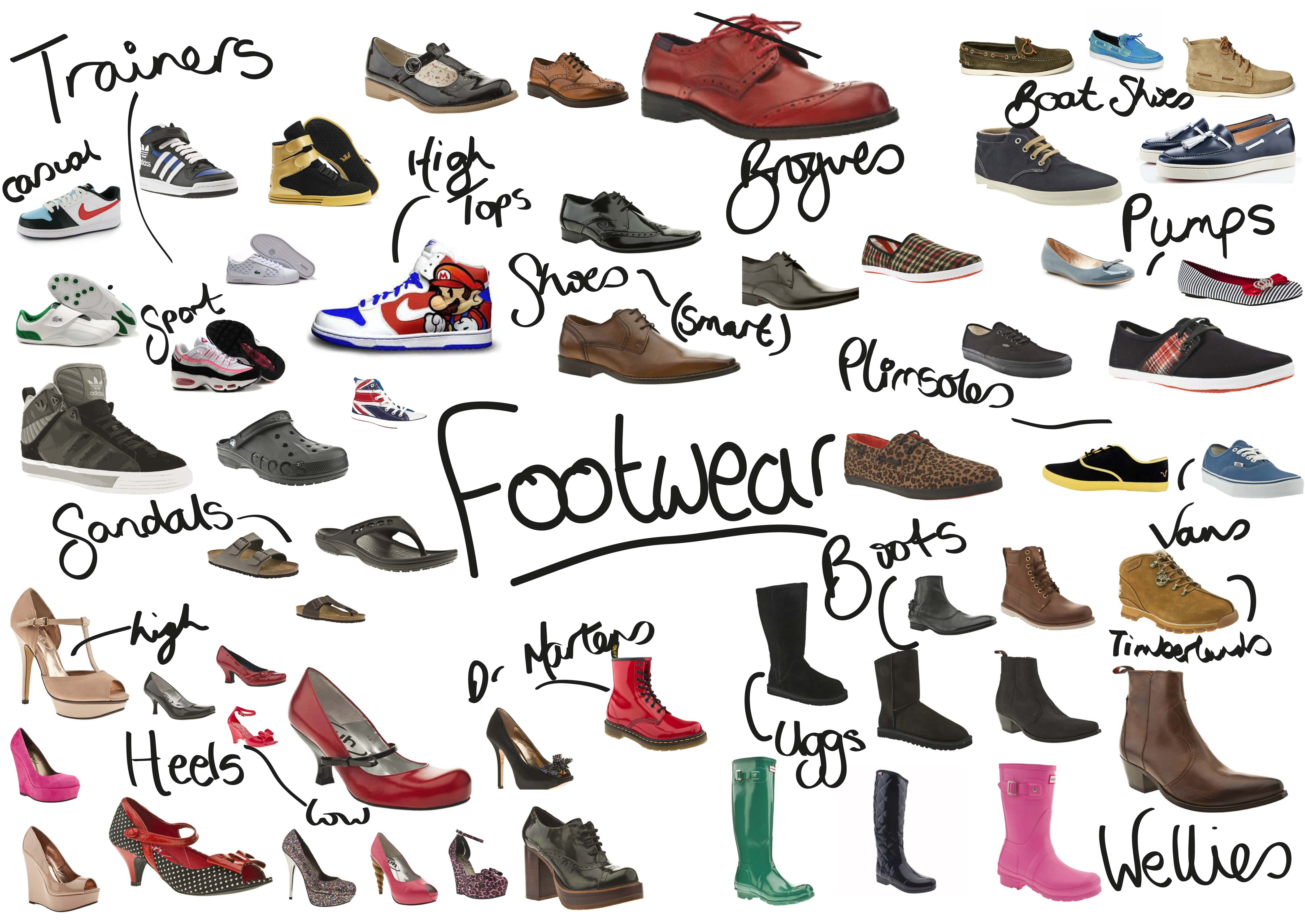 Shoe clipart variety #3