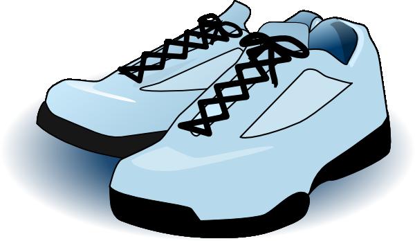 Cartoon clipart running shoe Com Download Clker  Shoes