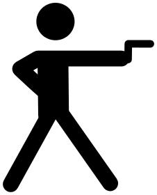 Shoot clipart Shooting clip art Clipart sports