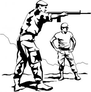 Shoot clipart Clip BW Shoot Art Instructions