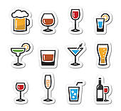 Vodka clipart alcohol · GoGraph icons Art Clip