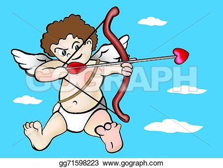 Shoot clipart cartoon  Cartoon Shooting EPS cupid