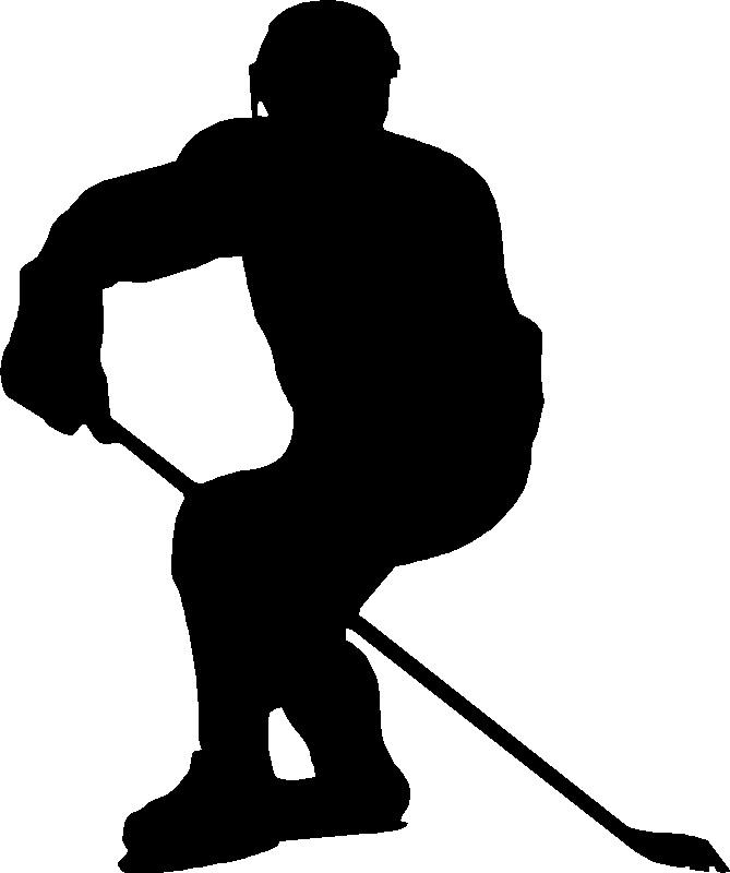 Shoot clipart hockey Hockey signs template Door Search