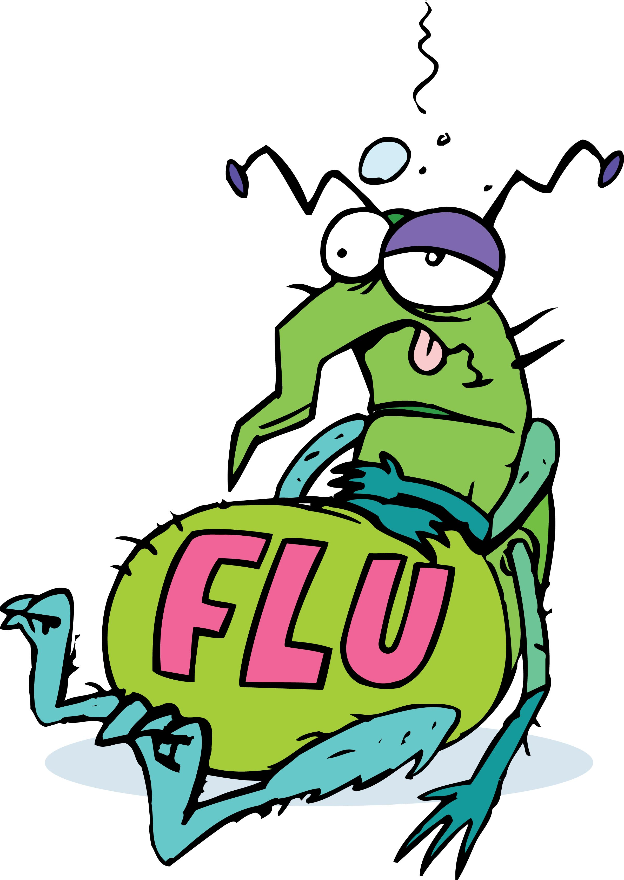 Bacteria clipart flu bug And Blog Flu drifting virus