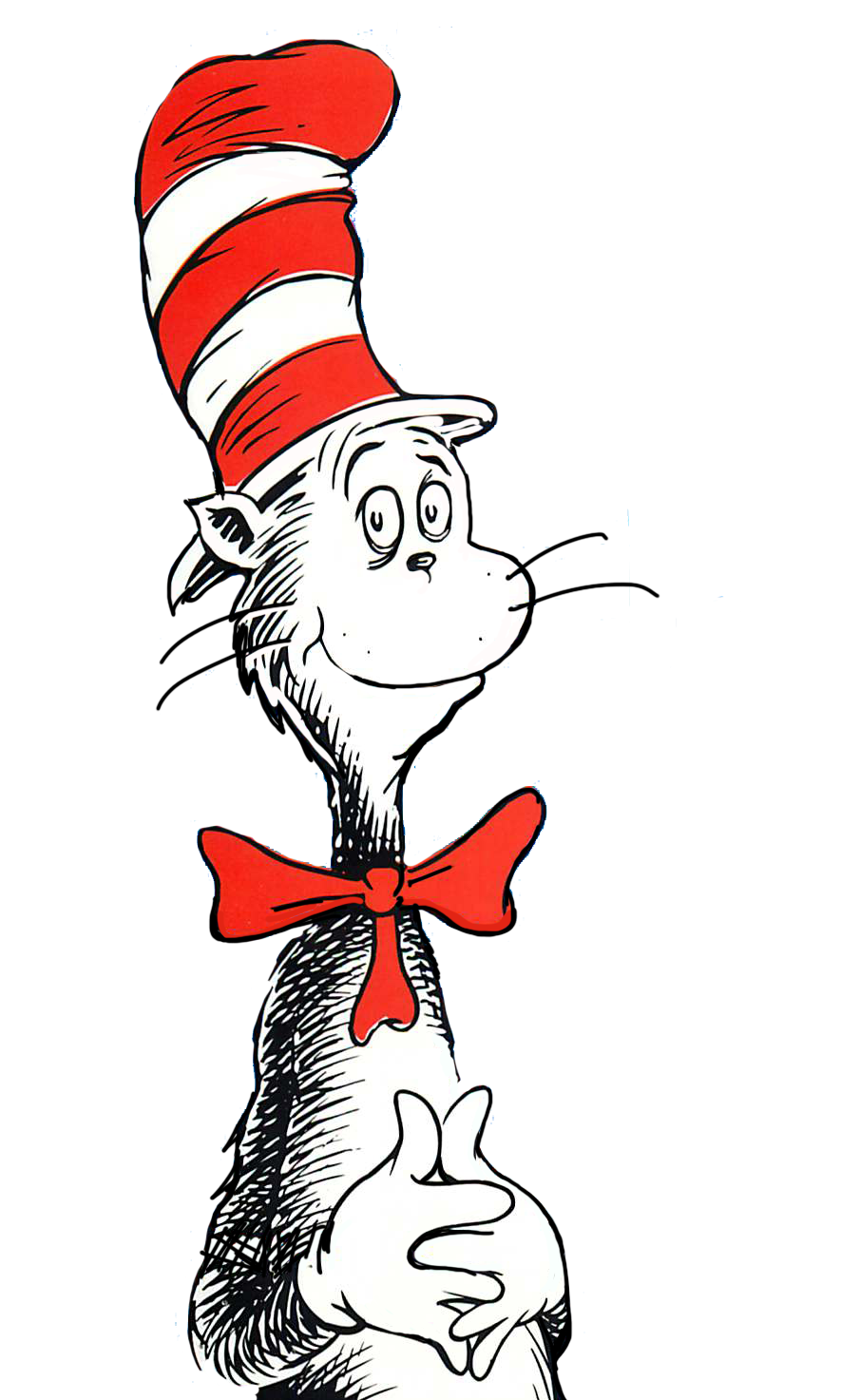 Birthday clipart cat in hat Clip ideas Dr Seuss Art