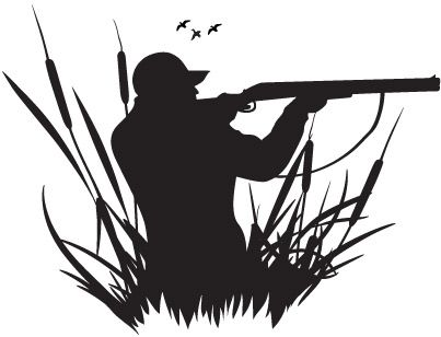 Shooter clipart man hunting And Search images silhouette fishing