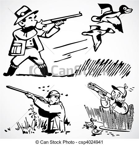 Shooter clipart man hunting Clipart 51 Stock collection Dove