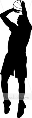 Shooter clipart silhouette Silhouette Clipart & Shooting Basketball