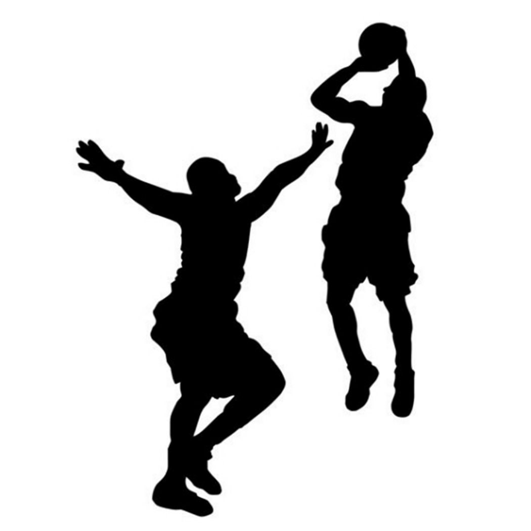 Shooter clipart silhouette Shooting clipart Basketball collection Index