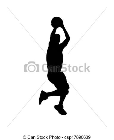 Shooter clipart silhouette Black silhouette white silhouette on