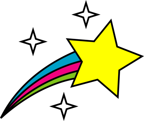Shooting Star clipart pink Clip Black  White shooting%20stars%20clipart%20black%20and%20white