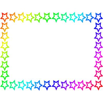 Shooting Star clipart border  Clipart Free Star Free