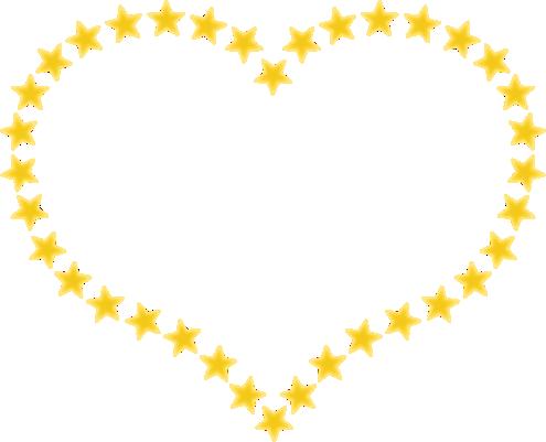 Shooting Star clipart border Art free Gold clipart star
