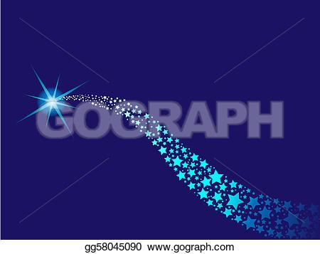 Shooting Star clipart comet Art illustration star gg58045090 to