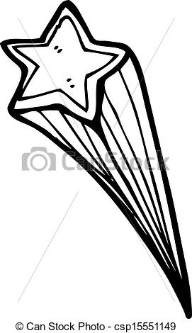 Shooting Star clipart drawn  shooting csp15551149 Search Clip