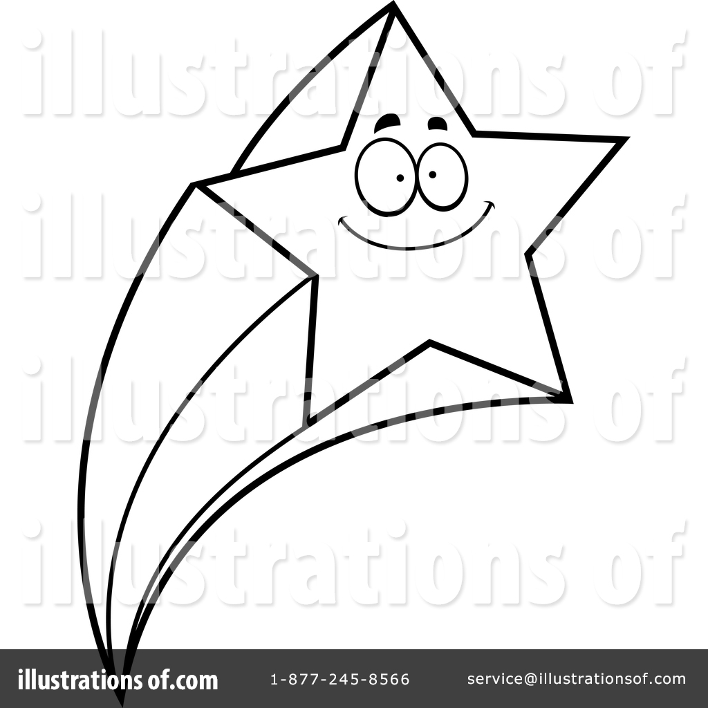 Shooting Star clipart drawn Clipart Royalty Illustration by Cory