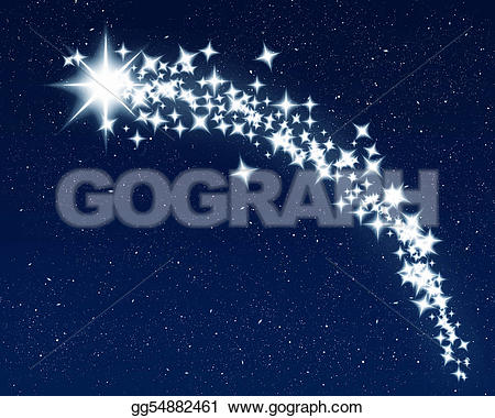 Shooting Star clipart drawn Gg54882461 Illustration Clipart star Illustration